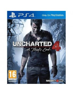 JUEGO PS4 UNCHARTED 4.-
