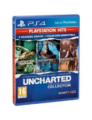 JUEGO SONY PS4 UNCHARTED...