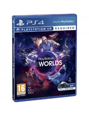 JUEGO SONY PS4 VR WORLDS VR.-