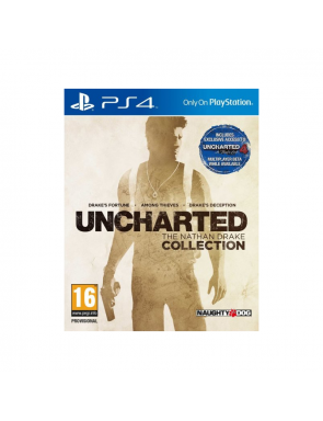 JUEGO PS4 UNCHARTED...