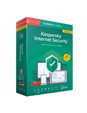 KASPERSKY KIS 2020 ANTIVIRUS INTERNET SECURITY 3 DISPOSITIVOS 1 AÑO RENOVACION