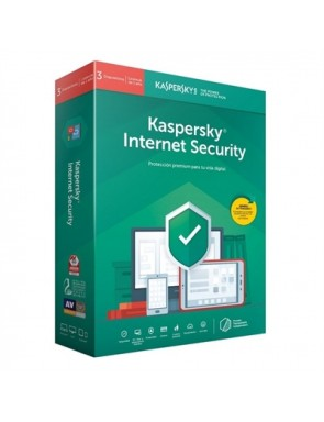 KASPERSKY KIS 2020 ANTIVIRUS INTERNET SECURITY 3 DISPOSITIVOS 1 AÑO