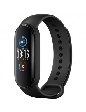 PULSERA INTELIGENTE XIAOMI MI BAND 5 AMOLED 1.1 COLOR  11 MODOS DEPORTIVOS.-