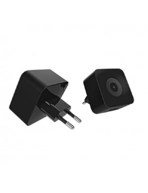 TRANSFORMADOR USB MUVIT 2.4A SIN CABLE NEGRO