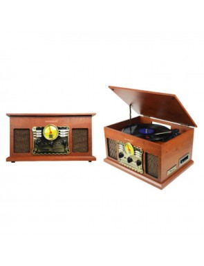 Wooden turntable Bluetooth...