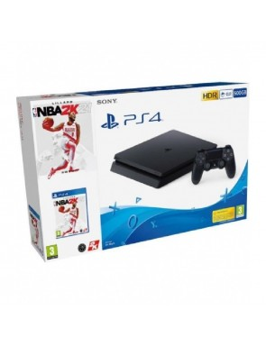 CONSOLA PS4 SLIM 500GB...