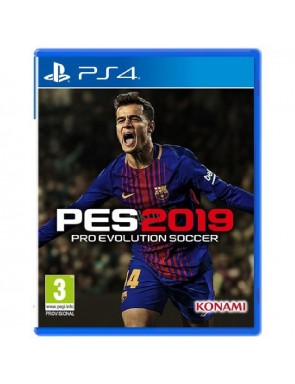 JUEGO SONY PS4 PES 2019 - PRO EVOLUTION SOCCER.-